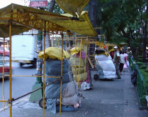 street vendor, Mexico City historical center