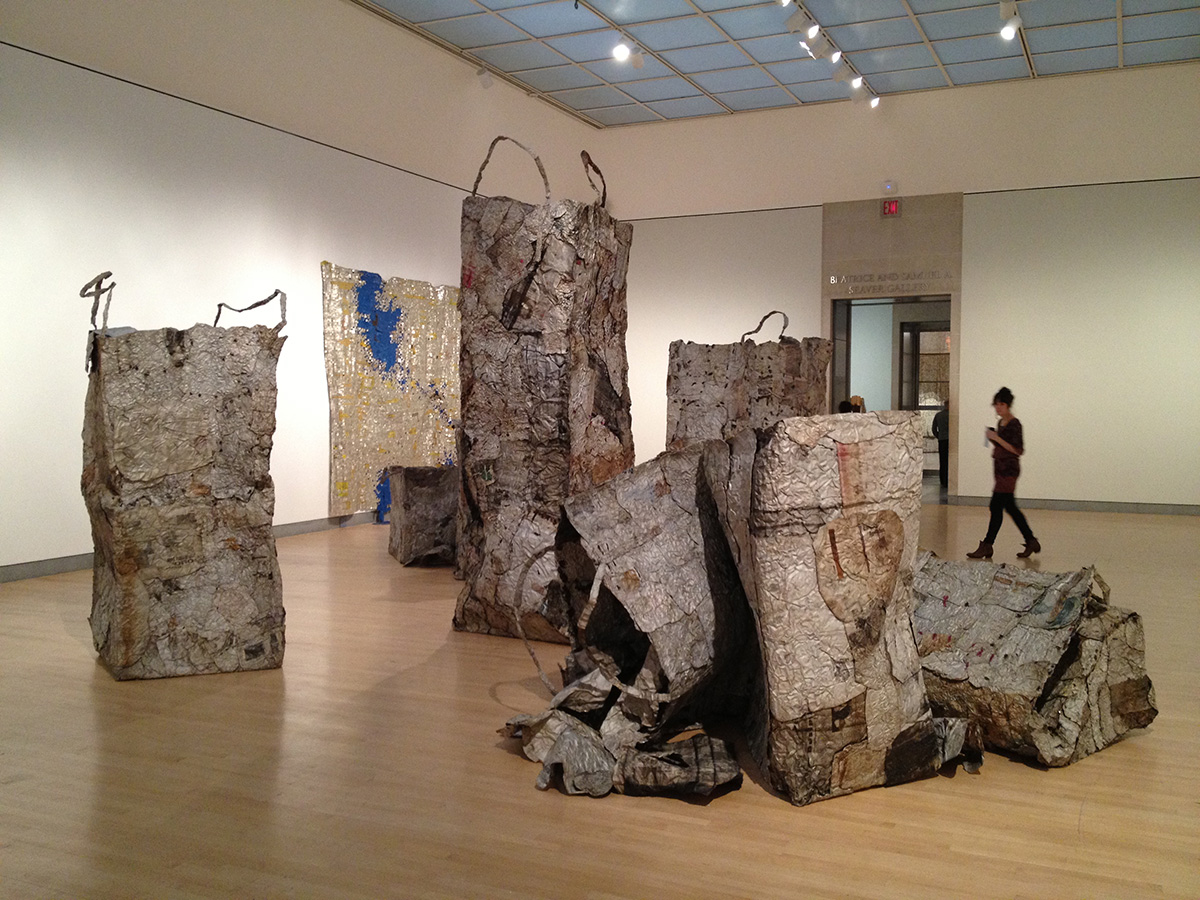 El Anatsui at Brooklyn Museum